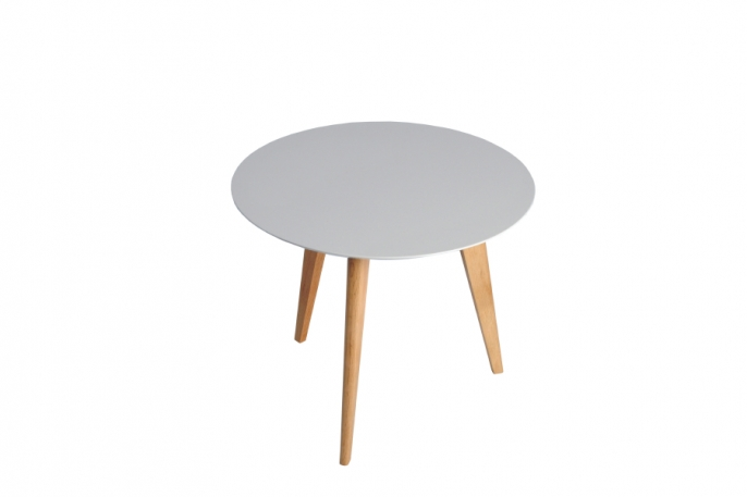 Basse Ronde Lalinde Location Design Table Ivoire Yyvf6gb7