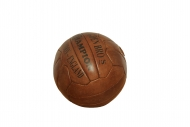 Ballon de Foot en Cuir Marron