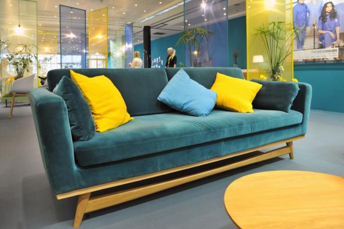 canap fifties velours bleu canard location canap design david hodkinson vachon d coration. Black Bedroom Furniture Sets. Home Design Ideas