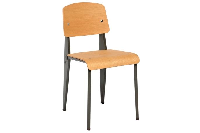 chaise standard location chaise design jean prouv vachon d coration. Black Bedroom Furniture Sets. Home Design Ideas