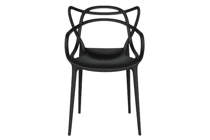 chaise de maitre noire