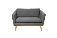Love Seat Victory Anthracite