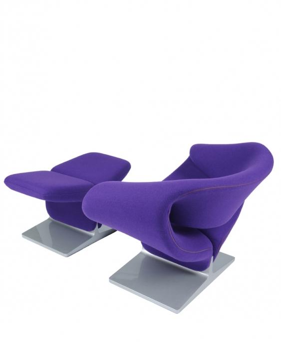 Fauteuil ribbon location fauteuil design pierre paulin - Bar moderne a new york avec design en forme de bulle ...