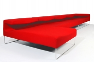 Méridienne Lowseat Rouge