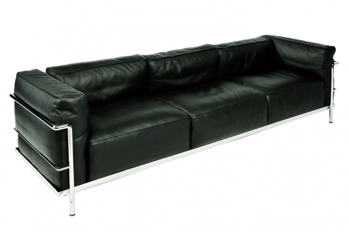 canap lc3 location canap design le corbusier vachon d coration. Black Bedroom Furniture Sets. Home Design Ideas